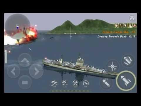Warship Battle : Episode 22 Mission 1 (Longbeach Desert)