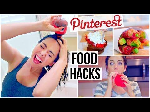 3 Pinterest Food Hacks TESTED!
