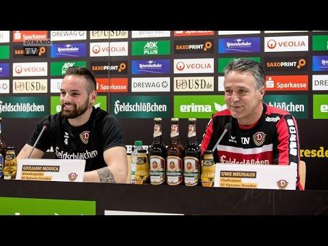 18. Spieltag | SGD - SCP | Pressekonferenz vor dem Spiel