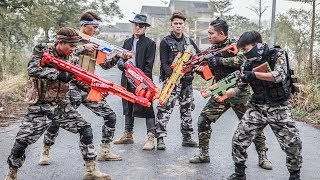 LTT Nerf War : SEAL X Warriors Nerf Guns Fight Criminal Group Raid Campaign In Sight