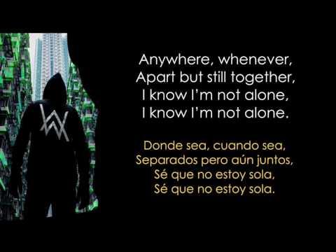 alan-walker---alone-lyrics-español/-inglés.
