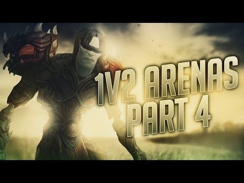 Sensus  WoW Legion Rogue PvP  1v2 ARENAS! Part 4 Legion Subtlety Rogue PvP Patch 72