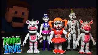 FNAF Five nights at Freddy's Bootleg Sister Location Articulated Action Figures Toys Fake Knock off
