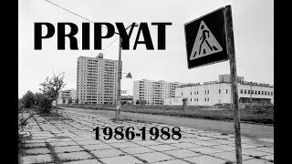 Chernobyl exclusion zone, Pripiat rare archive video 1988-1990