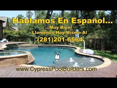 Construccion de Albercas / Piscinas  en Houston Tx | Cypress | Tomball | Woodlands | Magnolia