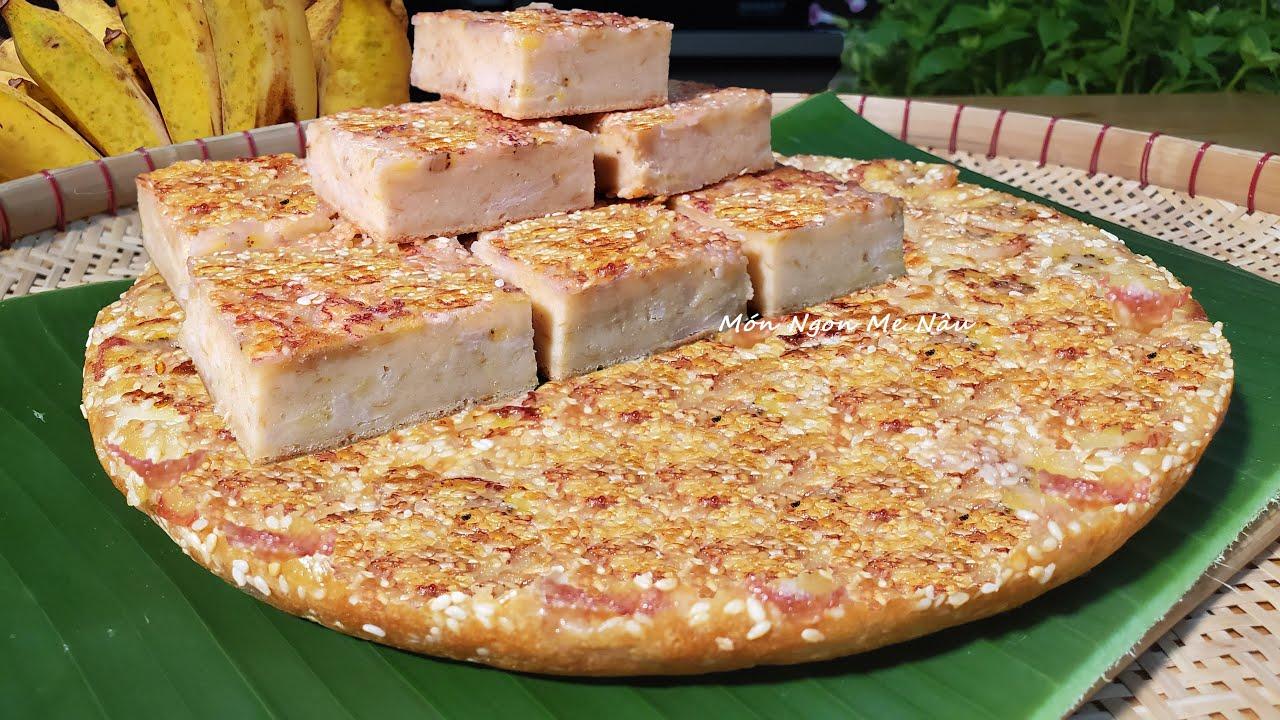 Mẹo Bảo Quản Chuối Không Hư & Cách Làm Bánh Chuối Nướng Bằng Chảo - Món Ngon Mẹ Nấu