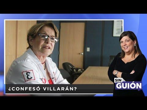 ¿Confesó Villarán? - SIN GUION con Rosa María Palacios