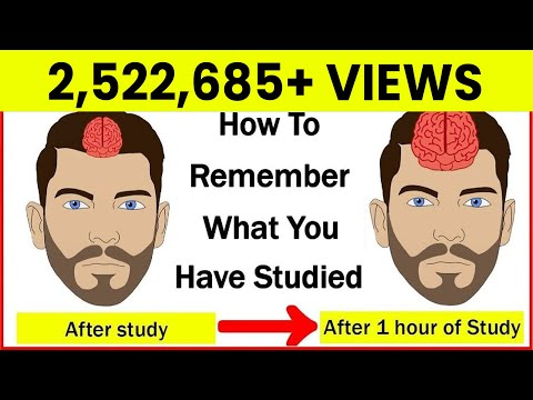 How to Remember what you study?   How to Increase your Memory Power?   Study Tips   Letstute