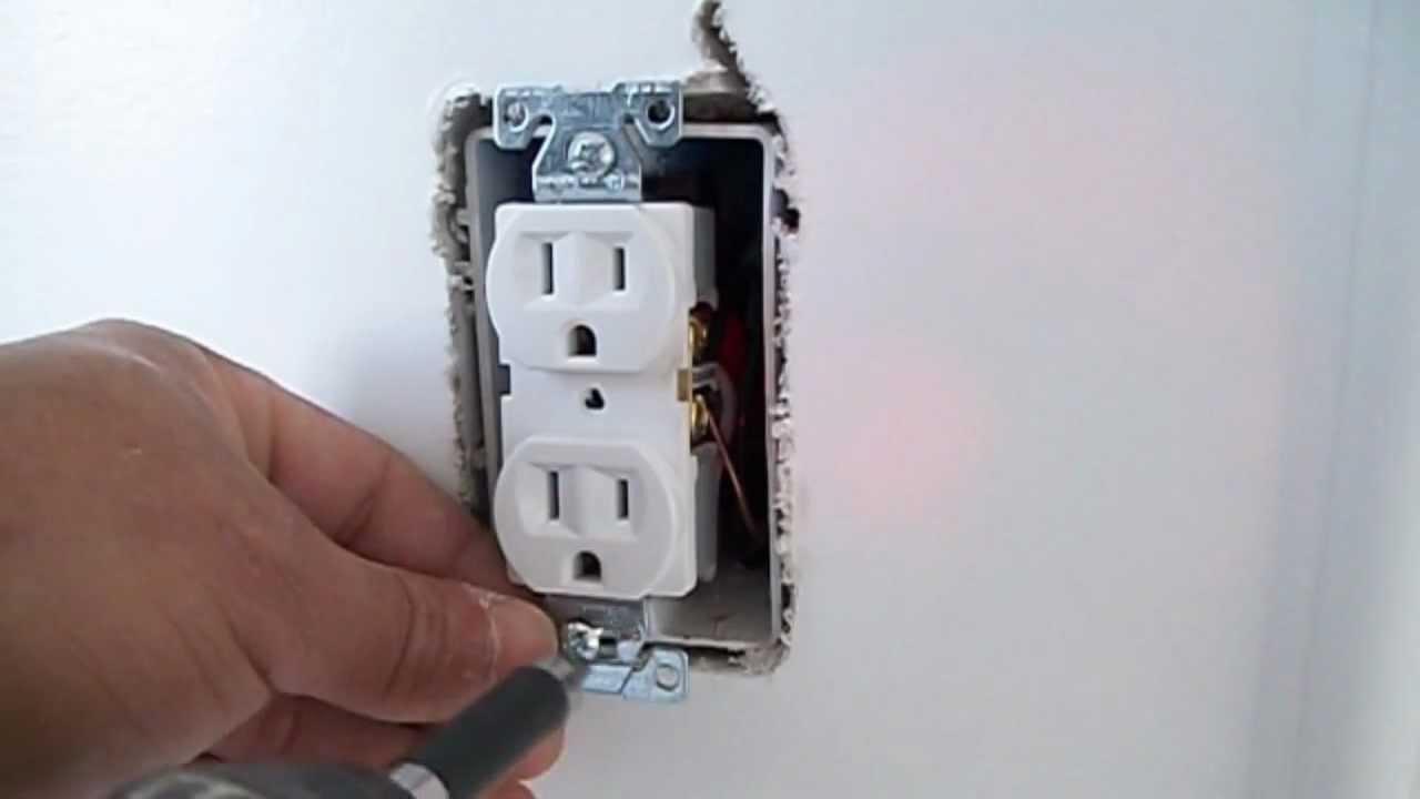 Instalacion de Tomacorriente Electrico  YouTube