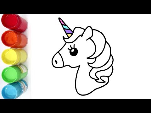 Cara Menggambar Dan Mewarnai Kuda Poni Pelangi Youtube