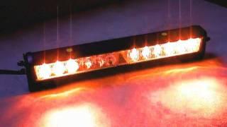 Elp-361-4 Amber/amber Led Deck Light (+directional Patterns)
