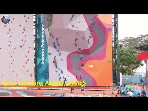 Qualifiers Lead   Sport Climbing Asian Games 2018