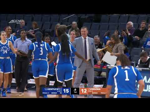 WBB: Kentucky 50, Virginia 47