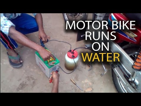 Motorbike Runs On Water | HHO | Hydrogen Gas Generator | Without Petrol | With Proof