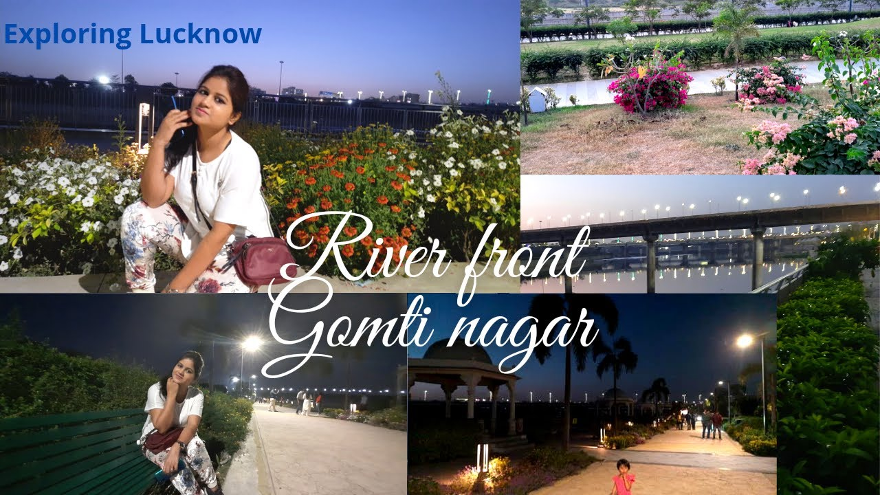 Download GOMATI RIVER FRONT LUCKNOW   Tourist Attractions River Front Park   River Front Gomti Nagar   VLog
