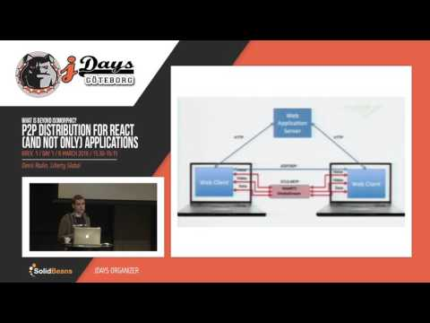 P2P Distribution for React (and not Only) Based Applications. Speaker: Denis Radin
