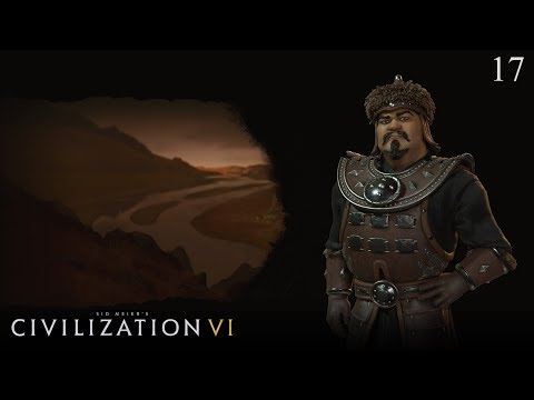 Civilization VI: Rise and Fall - Let's Play as Mongolia #17 (Deity)