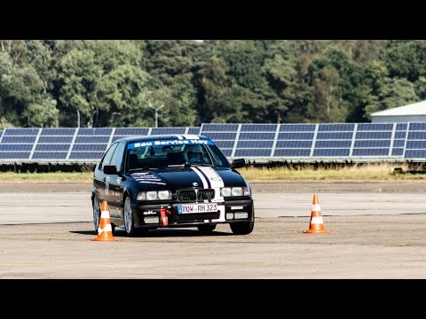 15. / 16. AC Verden Clubslalom 2016 - Onboard - Alexander Brase BMW E36 323ti
