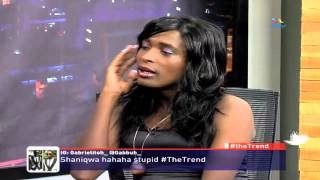 #theTrend  Kenya's #1 Socialite Shaniqwa 'muuuurderz' Larry Madowo