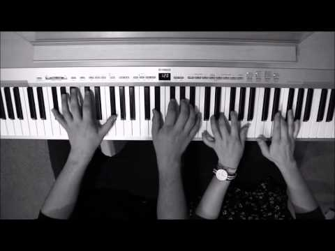 Rather Be (Clean Bandit) - 4 Hands Piano Cover + Sheet Music