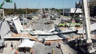 Web Video Extra: FIU Releases New Time Lapse Video Of Bridge Collapse