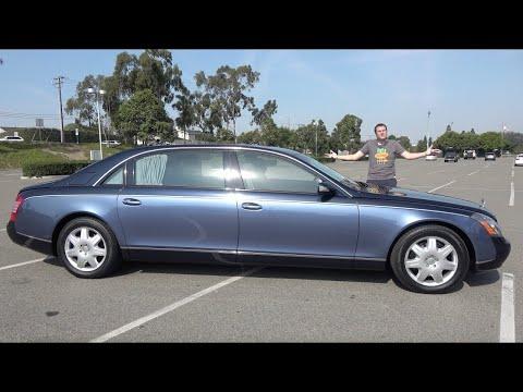 Maybach 62 за $500 000 был лучшим люксовым седаном 2000-х
