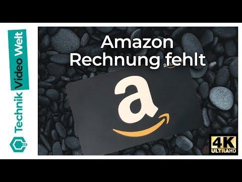 Amazon Rechnung Fehlt - Rechnung Anfordern