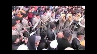 CONCURSO DE BANDA DE MUSICOS EN LA PLAZA DE ARMAS HUARZ ANCASH PERU HD