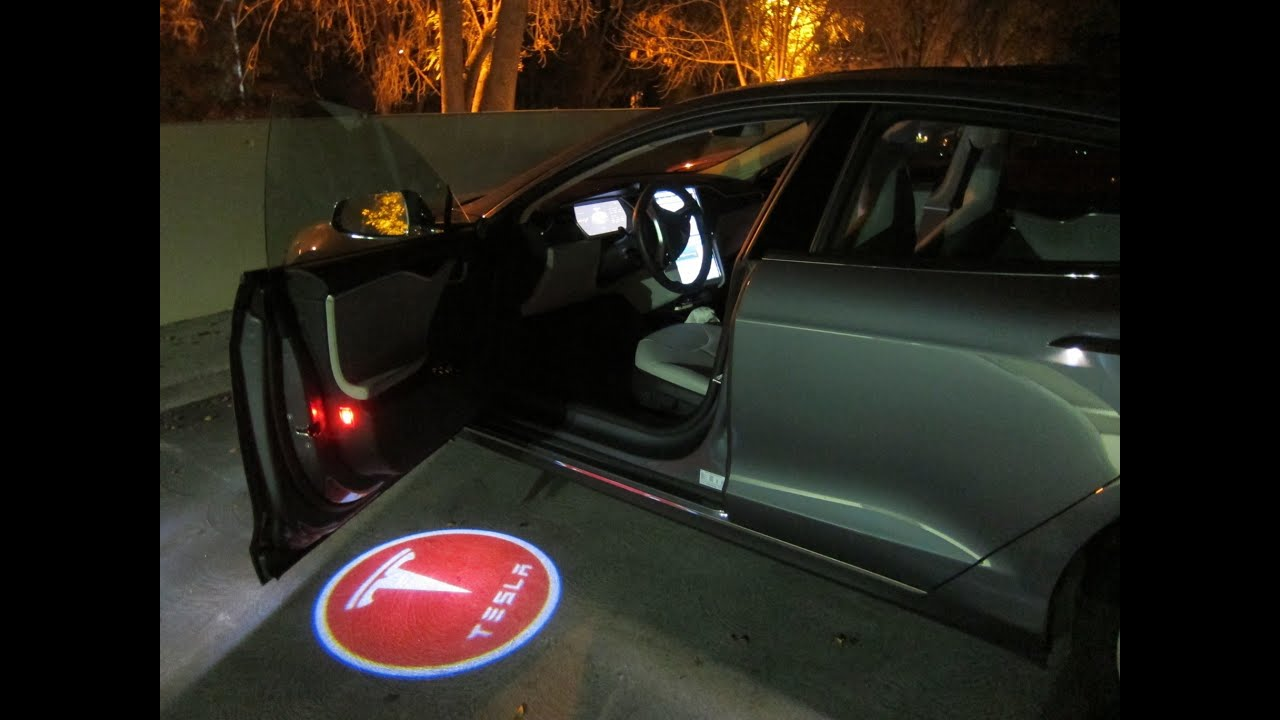Aiaia Car Door Led Light With Customized Logo