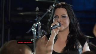 Evanescence - What You Want (Live MTV Premiere 2011) HD