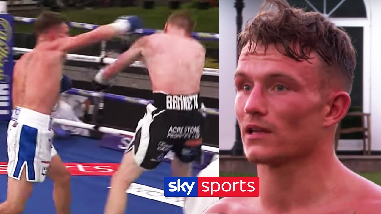 Dalton Smith reacts to his stunning one-punch knockout over Nathan Bennett | Post Fight