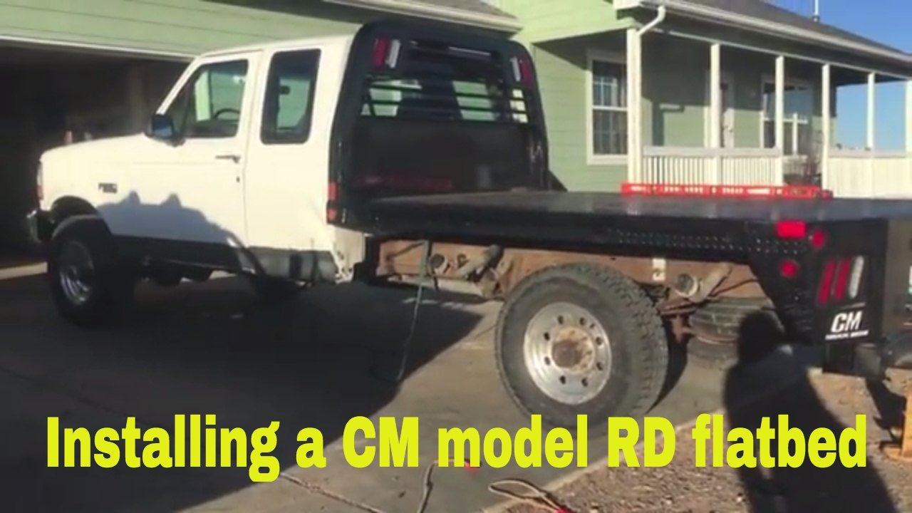 f 250 flatbed mounting youtubef 250 flatbed mounting [ 1280 x 720 Pixel ]