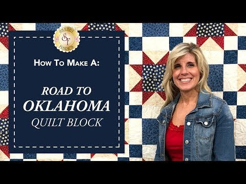 How to Make a Road to Oklahoma Quilt Block | a Shabby Fabrics Quilting Tutorial