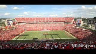 NFL Time Lapse: Raymond James Stadium (Sideline)