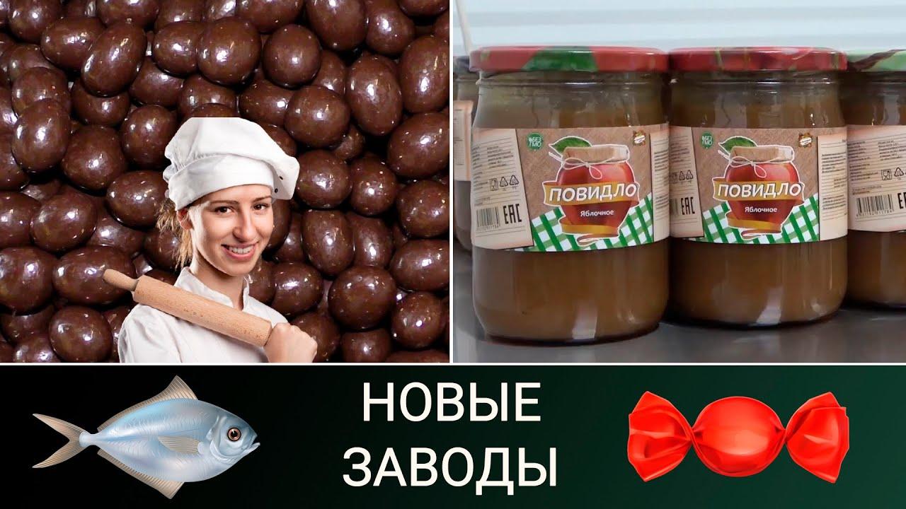 Новые заводы России. Август 2020 (часть 2: пищепром)