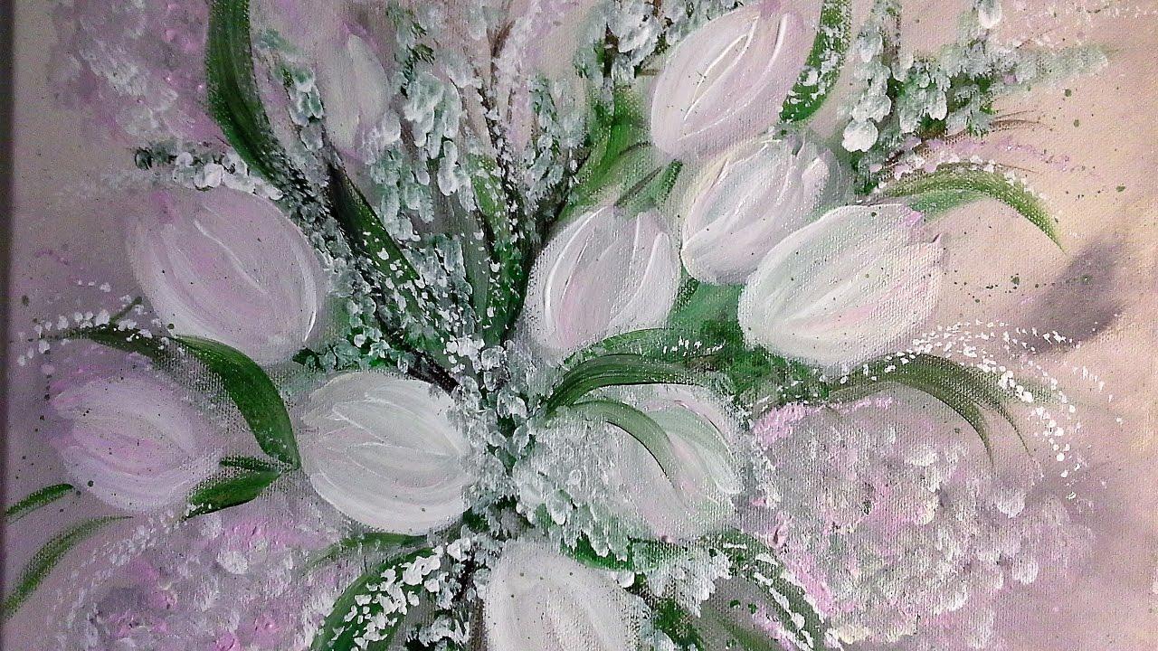 TulpenEinfach Malen Fr Anfnger in EchtzeitEasy