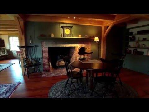 Early New England Homes UAV Tour