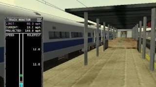 MSTS LIRR m1 departs Jamaica Station