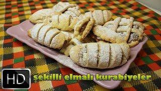 elmalı kurabiye nasıl yapılır?elmalı kurabiye tarifi