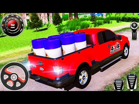 Offroad Jeep Cargo Driving Simulation - 4x4 SUV Hill Climb Driver - Android GamePlay