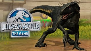 SUPER-HYBRID INDORAPTOR UNLOCKED!! - Jurassic World: The Game - *NEW HYBRID* Ep. 153 HD