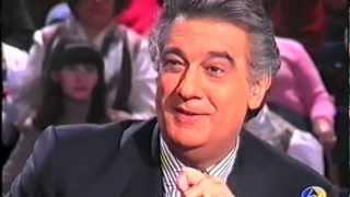 Plácido Domingo entrevista Nieves Herrero. 4-enero-1995. Parte 1