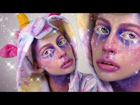 Jednorożec Makijaż Unicorn Elfgutz Makeup