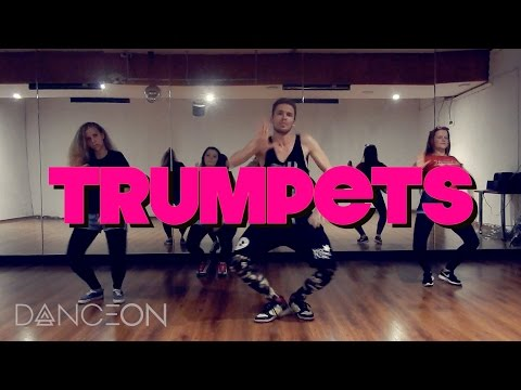 #TrumpetsChallenge | Sak Noel & Salvi - TRUMPETS ft. Sean Paul | dance choreography by Andrew Heart