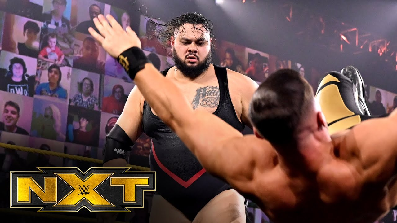 Bronson Reed Vs Austin Theory Wwe Nxt Oct 21 2020 Youtube