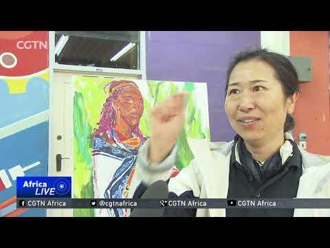Chinese artists showcase their work at Nairobi University