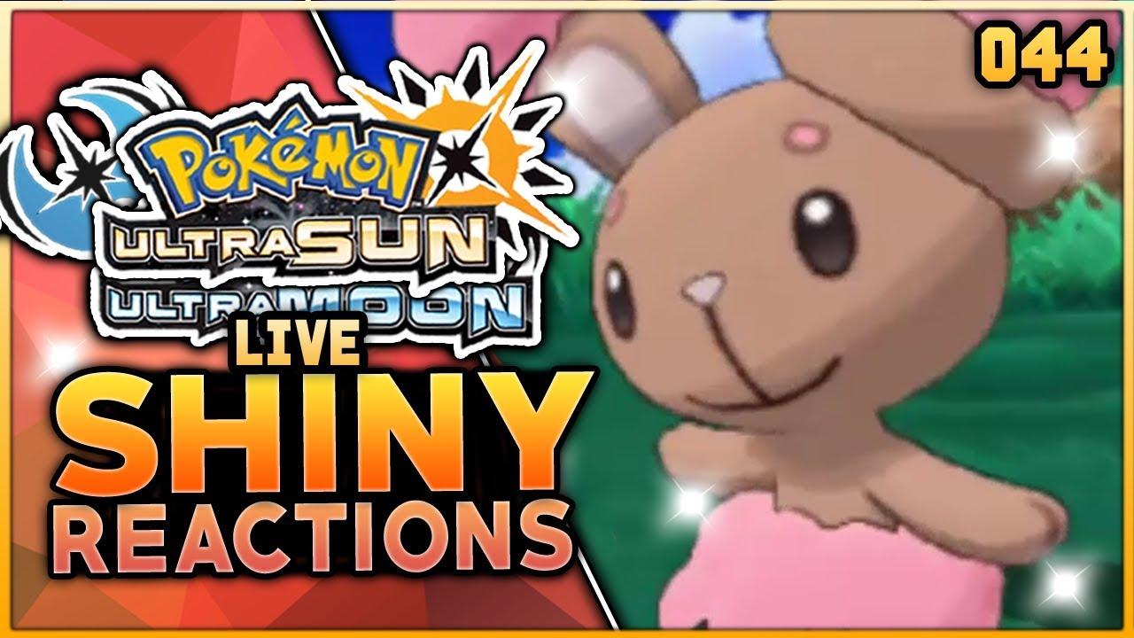 Live Shiny Buneary With No Shiny Charm Pokemon Ultra Sun Ultra