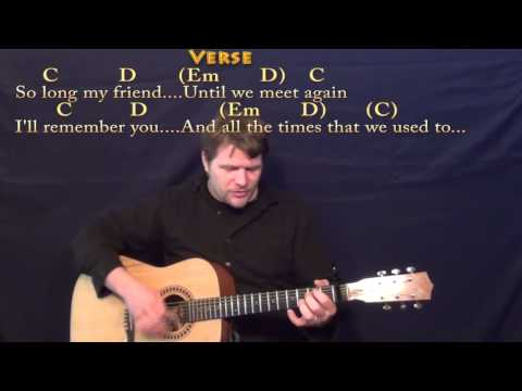Drink A Beer - Strum Guitar Cover Lesson With Chords/Lyrics