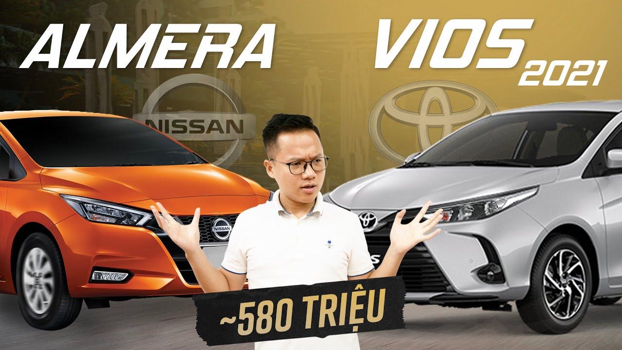 580 triệu, Nissan Almera có gì đấu Toyota Vios G?
