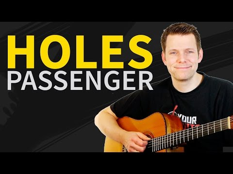 How To Play Holes Passenger Guitar Tutorial - Lesson & TAB